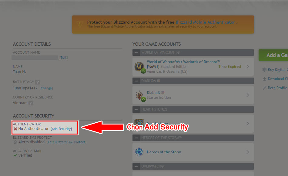 Add security