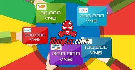Hướng dẫn nạp tiền vào tài khoản MuonAcc.Com